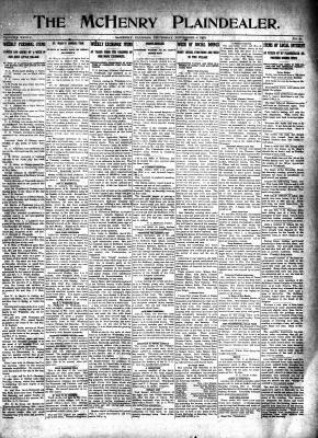 McHenry Plaindealer (McHenry, IL), 6 Nov 1913