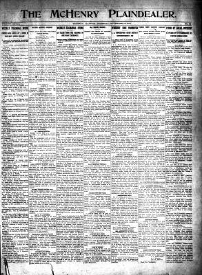 McHenry Plaindealer (McHenry, IL), 13 Nov 1913