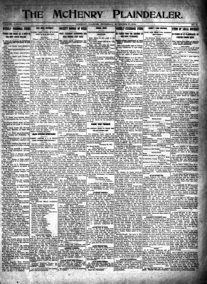 McHenry Plaindealer (McHenry, IL), 27 Nov 1913