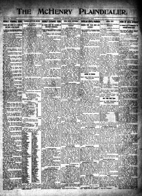 McHenry Plaindealer (McHenry, IL), 4 Dec 1913