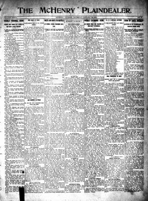 McHenry Plaindealer (McHenry, IL), 22 Jan 1914