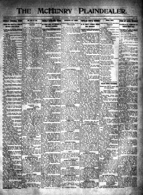 McHenry Plaindealer (McHenry, IL), 30 Apr 1914