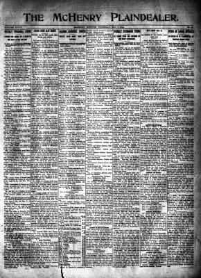 McHenry Plaindealer (McHenry, IL), 7 May 1914