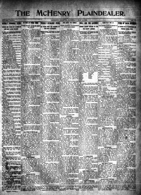 McHenry Plaindealer (McHenry, IL), 14 May 1914