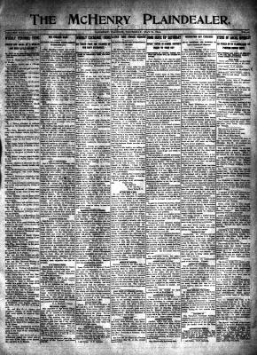 McHenry Plaindealer (McHenry, IL), 21 May 1914