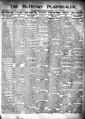 McHenry Plaindealer (McHenry, IL), 11 Jun 1914