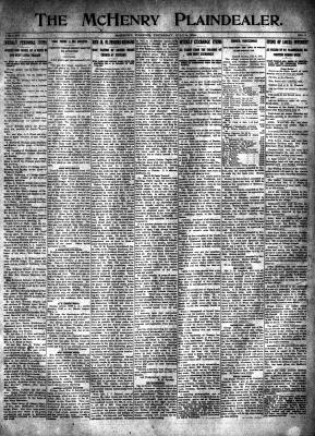 McHenry Plaindealer (McHenry, IL), 9 Jul 1914