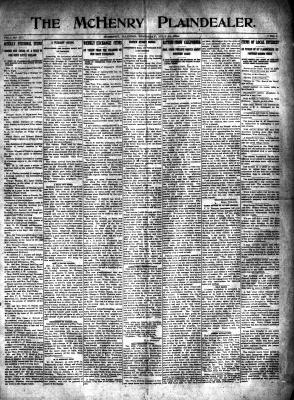 McHenry Plaindealer (McHenry, IL), 16 Jul 1914