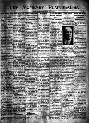 McHenry Plaindealer (McHenry, IL), 30 Jul 1914