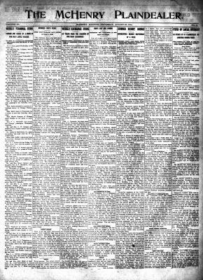 McHenry Plaindealer (McHenry, IL), 20 Aug 1914