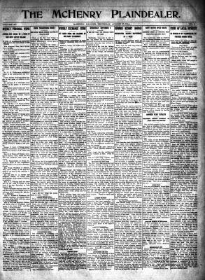 McHenry Plaindealer (McHenry, IL), 27 Aug 1914