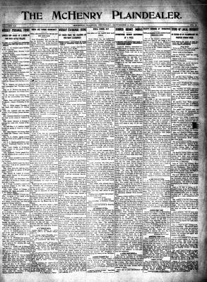 McHenry Plaindealer (McHenry, IL), 3 Sep 1914