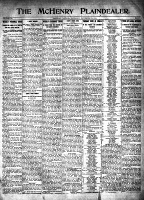 McHenry Plaindealer (McHenry, IL), 10 Sep 1914