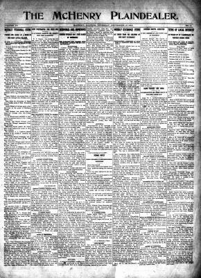 McHenry Plaindealer (McHenry, IL), 17 Sep 1914