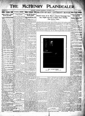 McHenry Plaindealer (McHenry, IL), 15 Oct 1914