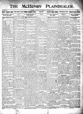 McHenry Plaindealer (McHenry, IL), 22 Oct 1914