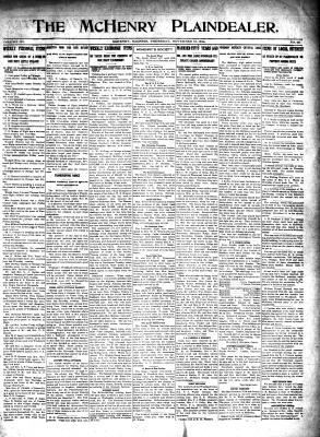 McHenry Plaindealer (McHenry, IL), 12 Nov 1914