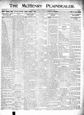 McHenry Plaindealer (McHenry, IL), 26 Nov 1914
