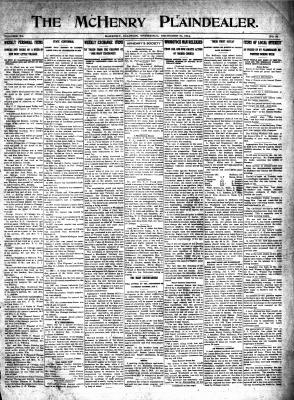 McHenry Plaindealer (McHenry, IL), 31 Dec 1914