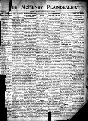 McHenry Plaindealer (McHenry, IL), 7 Jan 1915