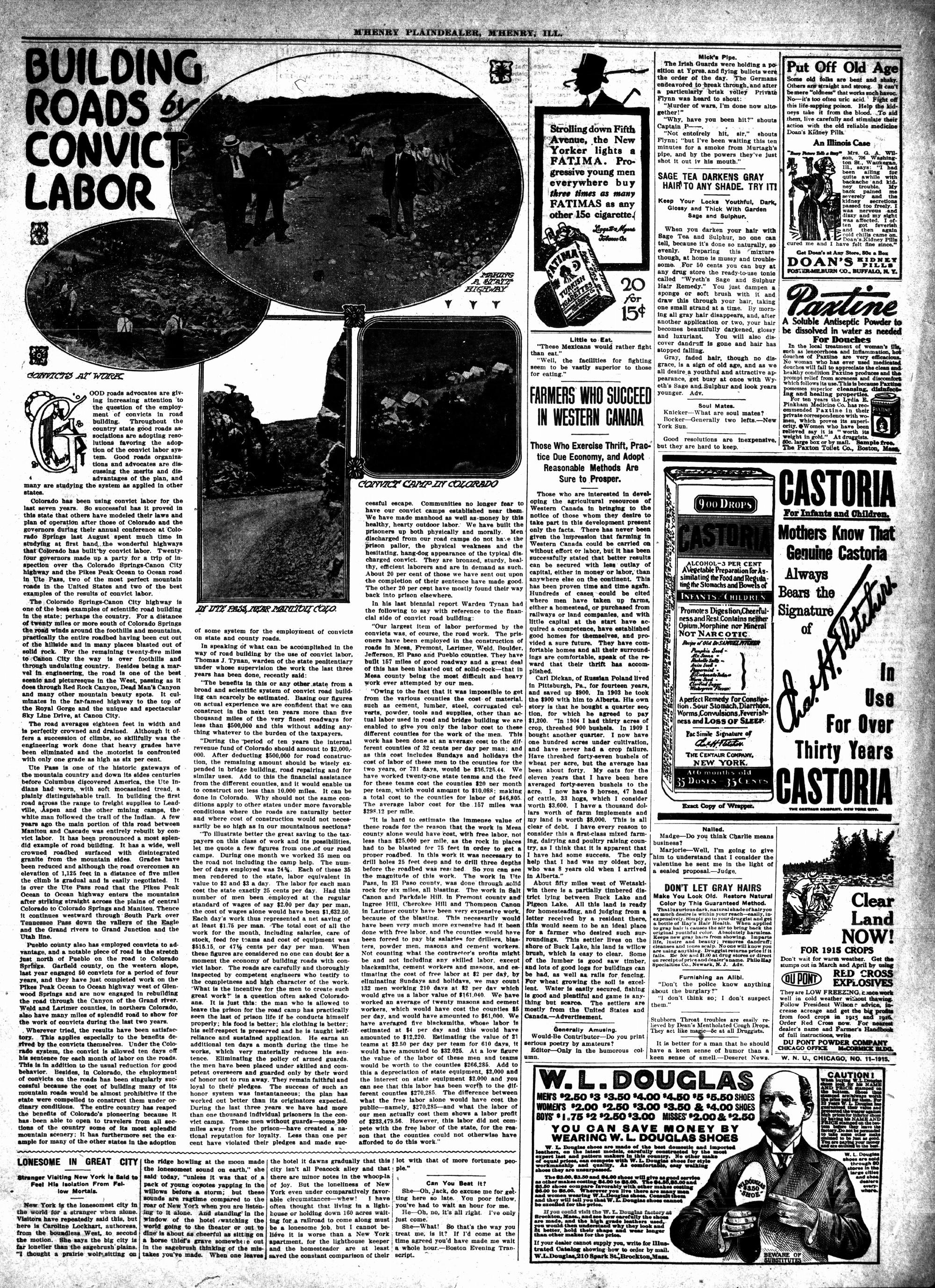 McHenry Plaindealer (McHenry, IL), 11 Mar 1915