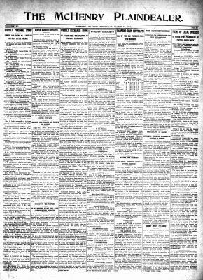 McHenry Plaindealer (McHenry, IL), 18 Mar 1915