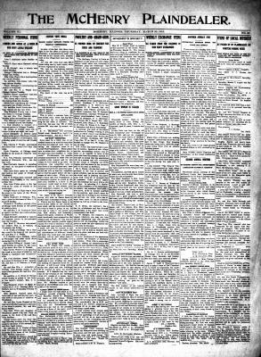 McHenry Plaindealer (McHenry, IL), 25 Mar 1915