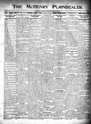 McHenry Plaindealer (McHenry, IL), 29 Apr 1915