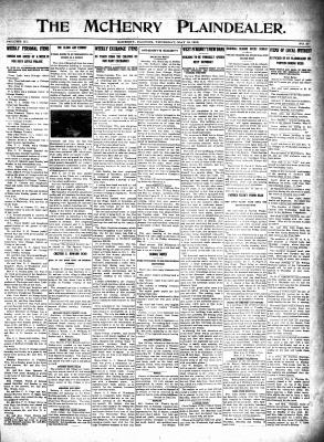 McHenry Plaindealer (McHenry, IL), 13 May 1915