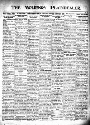 McHenry Plaindealer (McHenry, IL), 27 May 1915
