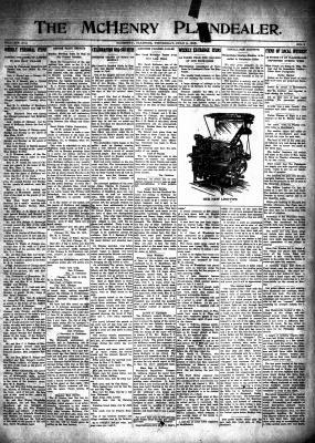 McHenry Plaindealer (McHenry, IL), 8 Jul 1915