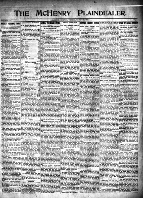 McHenry Plaindealer (McHenry, IL), 22 Jul 1915