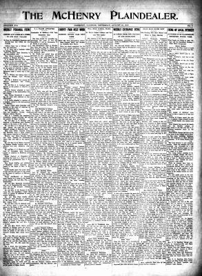 McHenry Plaindealer (McHenry, IL), 19 Aug 1915