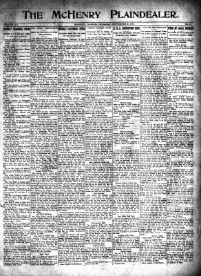 McHenry Plaindealer (McHenry, IL), 23 Sep 1915