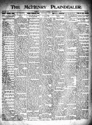 McHenry Plaindealer (McHenry, IL), 30 Sep 1915
