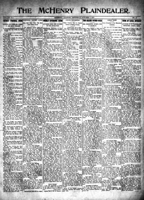 McHenry Plaindealer (McHenry, IL), 7 Oct 1915