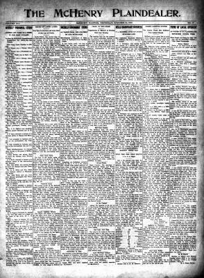 McHenry Plaindealer (McHenry, IL), 14 Oct 1915
