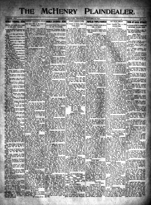 McHenry Plaindealer (McHenry, IL), 21 Oct 1915