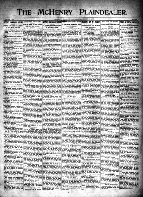 McHenry Plaindealer (McHenry, IL), 28 Oct 1915
