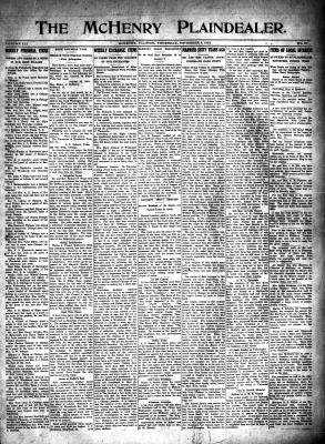 McHenry Plaindealer (McHenry, IL), 4 Nov 1915