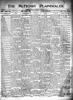 McHenry Plaindealer (McHenry, IL), 18 Nov 1915