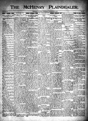 McHenry Plaindealer (McHenry, IL), 2 Dec 1915