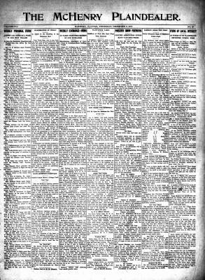 McHenry Plaindealer (McHenry, IL), 9 Dec 1915