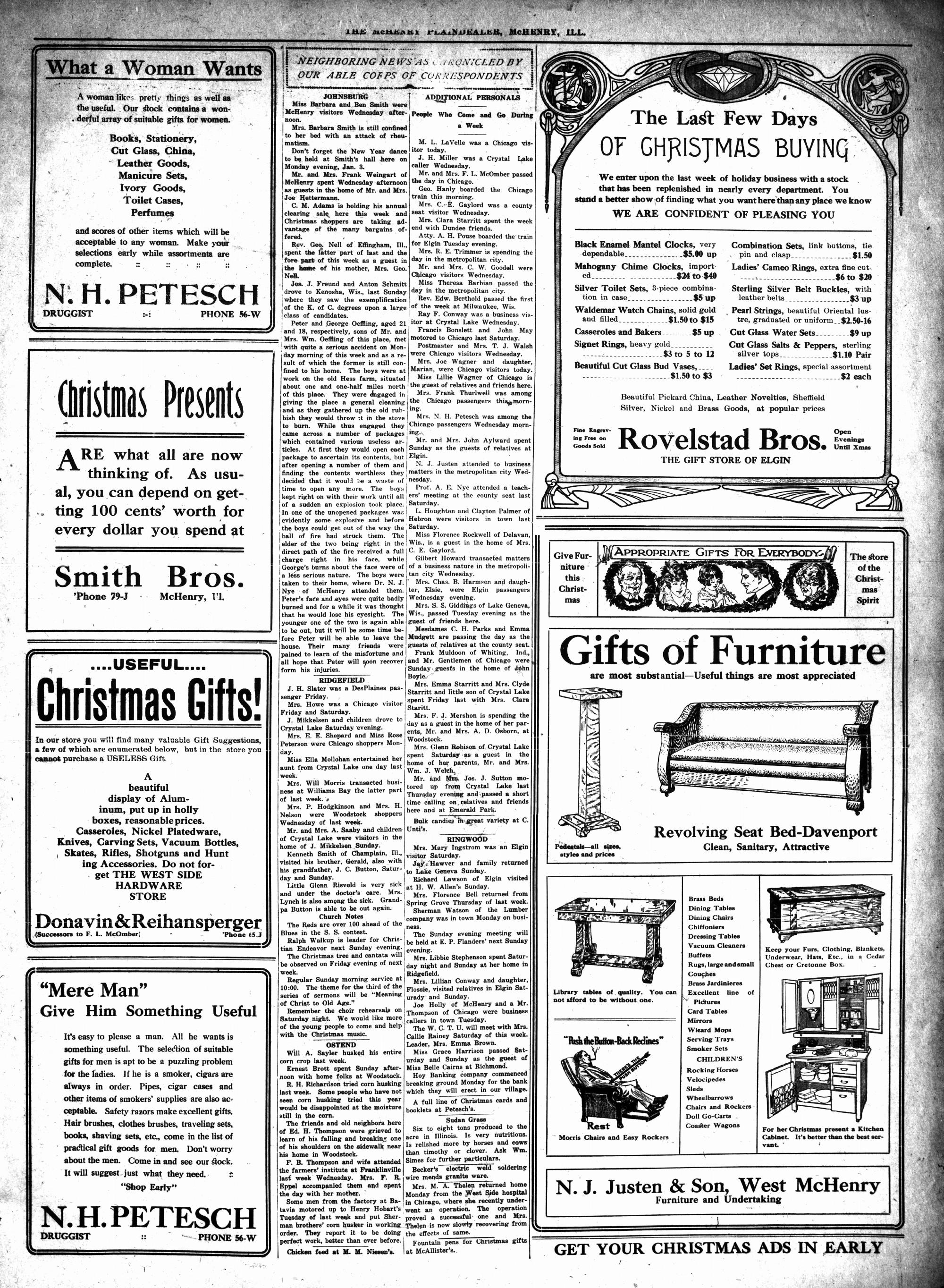 McHenry Plaindealer (McHenry, IL), 16 Dec 1915
