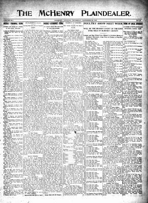 McHenry Plaindealer (McHenry, IL), 23 Dec 1915