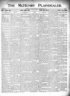McHenry Plaindealer (McHenry, IL), 30 Dec 1915