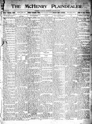 McHenry Plaindealer (McHenry, IL), 6 Jan 1916