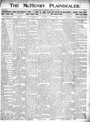 McHenry Plaindealer (McHenry, IL), 10 Feb 1916