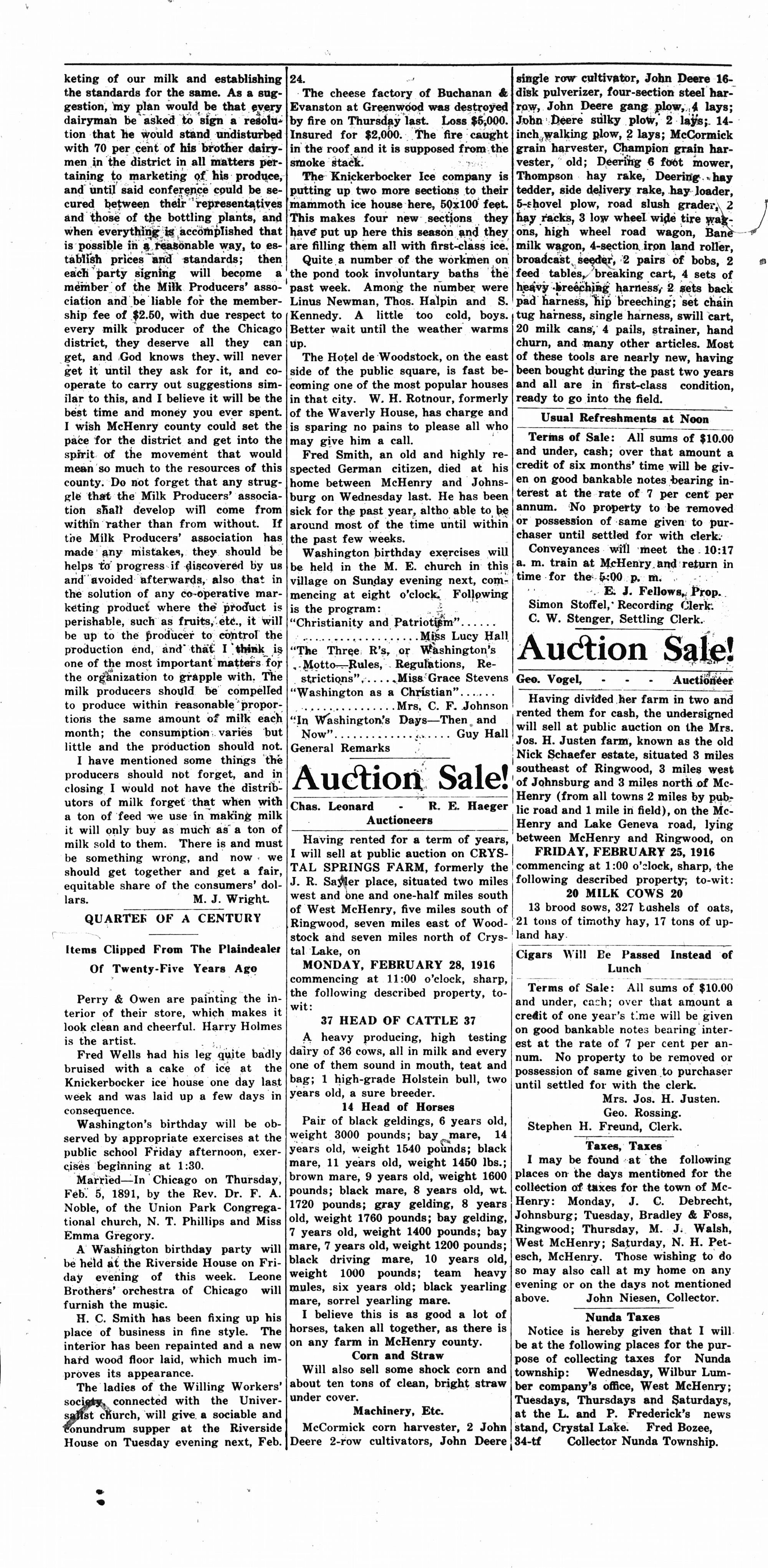 McHenry Plaindealer (McHenry, IL), 24 Feb 1916
