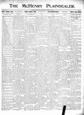 McHenry Plaindealer (McHenry, IL), 9 Mar 1916